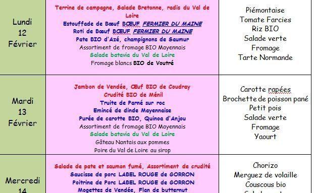 Semaine Loire Océan au Self