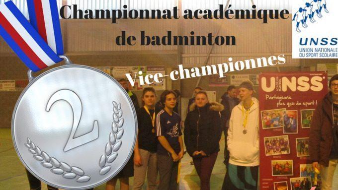 Championnat UNNS de badminton