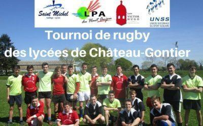 Tournoi de rugby des lycées de Château-Gontier
